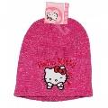 Caciula tricotata Hello Kitty roz Disney, 54 cm (8-11 ani)