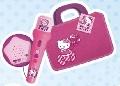 Geanta cu microfon si amplificator Hello Kitty Reig Musicales,