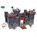 Castelul mutantilor din lemn Papo,