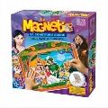 Joc Magnetic Sa contruim Scene - Alba ca Zapada D-Toys,