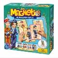 Joc Magnetic Sa imbracam Papusa - Dupa Meserii D-Toys,