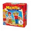 Joc Magnetic Sa imbracam Papusa - Clasic D-Toys,