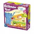 Joc educativ Elefantelul Vesel - Aventuri Culinare D-Toys,