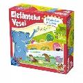 Joc educativ Elefantelul Vesel - O Plimbare in Natura D-Toys,