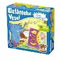 Joc educativ Elefantelul Vesel - Lumea Animalelor D-Toys,