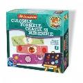 Joc educativ in cutie mare Sa Invatam - Culorile, Formele, Ceasul si Meseriile D-Toys,