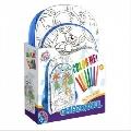 Ghiozdan de colorat pentru fete / baieti D-Toys, Baieti