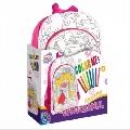 Ghiozdan de colorat pentru fete / baieti D-Toys, Fete