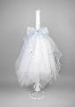 Lumanare botez Fluturas bleu Nikos Collection,