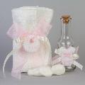 Set preot Figurine roz Nikos Collection,