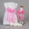 Set preot Fundita roz Nikos Collection,
