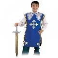Costum pentru serbare Muschetarul Athos cu sabie Fries, 116 cm
