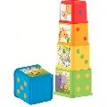 Piramida din cuburi Fisher Price,