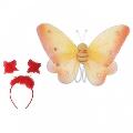 Set accesorii Fluturas Fries, Rosu