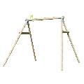 Structura de leagan din lemn cu 2 pozitii TP Toys,
