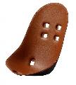 Suport din plastic pentru scaun de masa Moon Mima, Camel