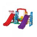 Centru de joaca 4 in 1 Happy Slide Multicolor Million Baby,