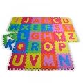 Covor puzzle din spuma Alphabet 26 piese Knorrtoys,