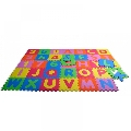 Covor puzzle din spuma Alphabet and Numbers 36 piese Knorrtoys,