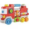 Jucarie interactiva Camion de pompieri Baby Mix,