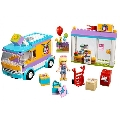 Distribuirea cadourilor in Heartlake 41310 LEGO Friends,