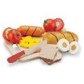 Platou cu diferite alimente New Classic Toys,