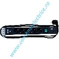 PRELUNGITOR 5 PRIZE CU INTRERUPATOR SI CHARGER USB DUBLU CORDON 2M CONNECT LINE