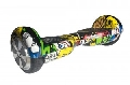 SCUTER ELECTRIC HOVERBOARD A025-34, GRAFFITI, 6.5INCH - SMART WHEEL, BATERIE FIRST