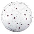 Plafoniera Jolly Lilac E27 3x MAX 40W