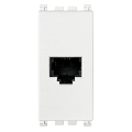 Priza modulara telefon RJ11 6/4 contacte 1 modul Vimar Arke