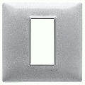 Rama ornament 1 modul Metal argintiu metalizat