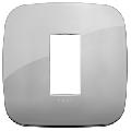 Rama ornament 1 modul Metal Chrome Vimar Arke
