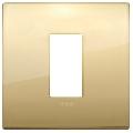 Rama ornament 1 modul Metal Gold Vimar Arke