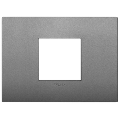 Rama ornament 2 module centrale Metal Matt Slate Vimar Arke