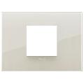 Rama ornament 2 module centrale Reflex Ivory White Vimar Arke