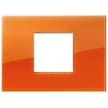 Rama ornament 2 module centrale Reflex Orange Vimar Arke