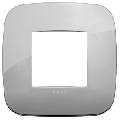 Rama ornament 2 module Metal Chrome Vimar Arke