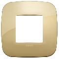 Rama ornament 2 module Metal Gold Vimar Arke