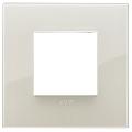 Rama ornament 2 module Reflex Ivory White Vimar Arke