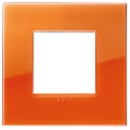 Rama ornament 2 module Reflex Orange Vimar Arke