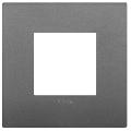 Rama ornament 2 module Technopolymer Grey Vimar Arke