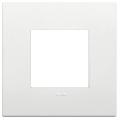 Rama ornament 2 module Technopolymer White Vimar Arke