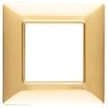 Rama ornament 2 module Tehnopolimer auriu lucios