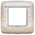 Rama ornament 2 module Wood White Oak Eikon Chrome