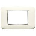 Rama ornament 3 module Bright Arctic White Eikon Chrome