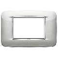 Rama ornament 3 module Bright Metallic Silver Eikon Chrome