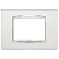 Rama ornament 3 module Glass Silver Mirror Eikon Chrome