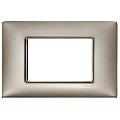 Rama ornament 3 module Metal pearl nickel
