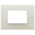 Rama ornament 3 module Reflex Ivory White Vimar Arke