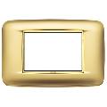 Rama ornament 3 module Satin Gold Eikon Chrome